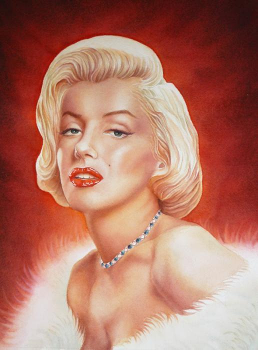 Marilyn Monroe by Olivier_Lerousseau